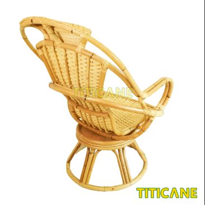 TITICANE Tango Rotate Lounge Chair [ Kerusi Rehat Putar ] [ Rattan / Rotan ]