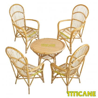 TITICANE Singapore Chair [ Kerusi Rotan ] [ Rattan Mantang ]