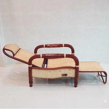 TITICANE Waving Auto Reclining Lazy Chair [ Chia 2 Series ] [ Kerusi Rotan ]  [ Rattan Manau ]