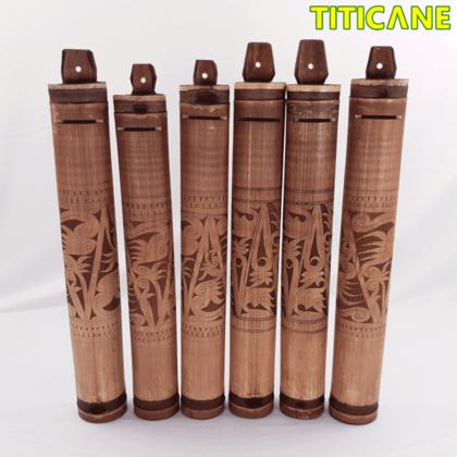 TITICANE Tabung Bank Original Sarawak [ Bamboo / Pulur ]