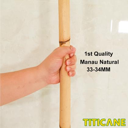 TITICANE Manau Natural 1st Quality [ 9 Feet ] [ Rattan / Rotan ]