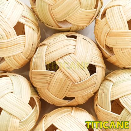 TITICANE Sepak Takraw 1st Quality [ Rattan / Rotan ]