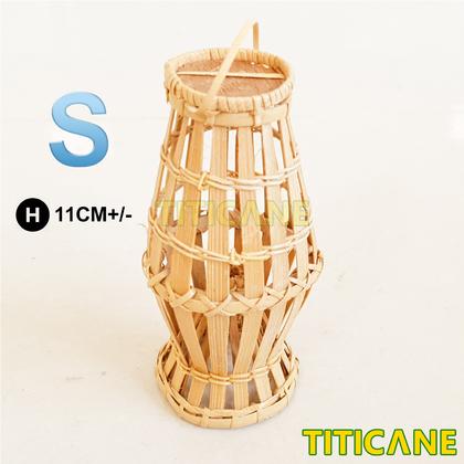 TITICANE Mini Bubu Sabah Origin [ Rattan / Rotan ]