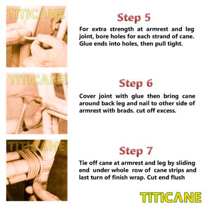 TITICANE Rattan Skin [ Kulit Rotan ]