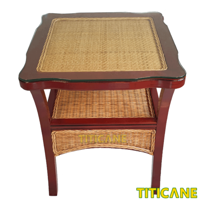 TITICANE Butterfly Rattan Table [ Meja Rotan ]