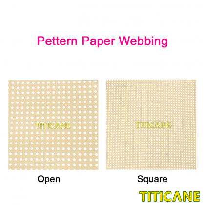 TITICANE Strengthen Paper Open Webbing [ 18 inch ] [ 2 Feet Per Unit ]