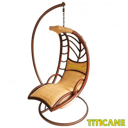 TITICANE Moon Swing Basket [ Buaian Rotan ] [ Rattan ]